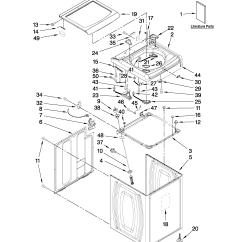 Front Load Washer Parts Diagram Minn Kota Riptide 55 Wiring Whirlpool Automatic Model Wtw7800xw0