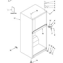 Whirlpool Gold Refrigerator Parts Diagram Vtec Solenoid Wiring Freezer Gas For Yamaha Carts
