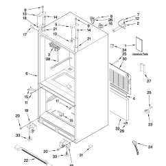 Jenn Air Refrigerator Parts Diagram Strat Wiring Model Jfc2089wep2 Sears