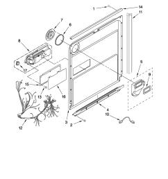 kitchenaid model kuds30ivwh0 dishwasher genuine parts rh searspartsdirect com kitchenaid dishwasher wiring harness diagram kitchenaid dishwasher [ 2550 x 3300 Pixel ]