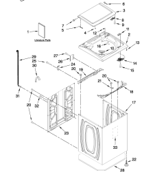 whirlpool cabrio washer parts diagram further whirlpool washer lint [ 2550 x 3300 Pixel ]