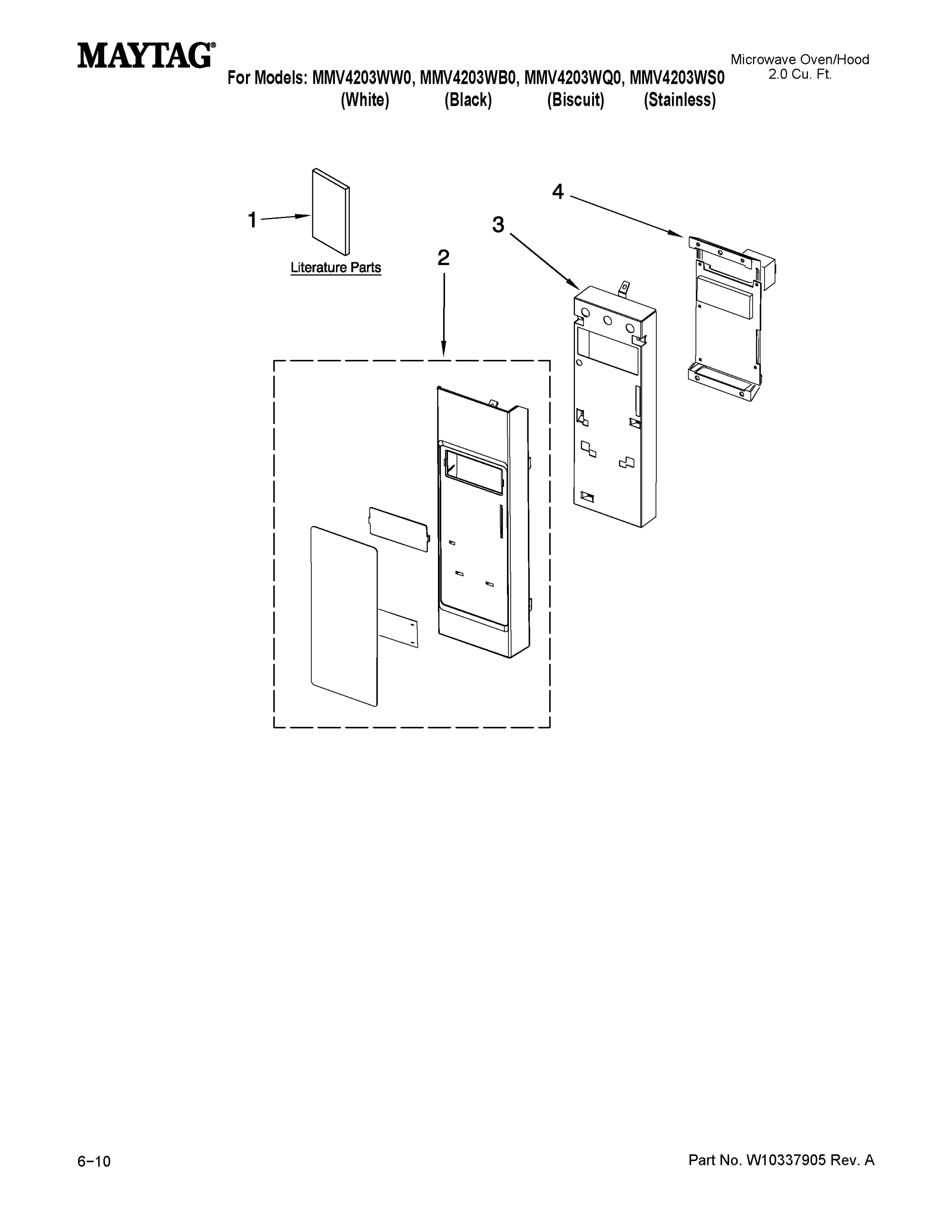 hight resolution of looking for maytag model mmv4203ws0 microwave hood combo repairmaytag mmv4203ws0 control panel parts diagram