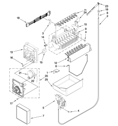 whirlpool gb2fhdxwq02 icemaker parts diagram [ 2550 x 3300 Pixel ]