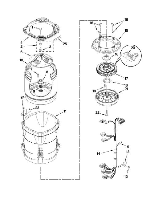 small resolution of whirlpool parts whirlpool washing machine parts diagram wiring whirlpool refrigerator parts schematic whirlpool parts schematic