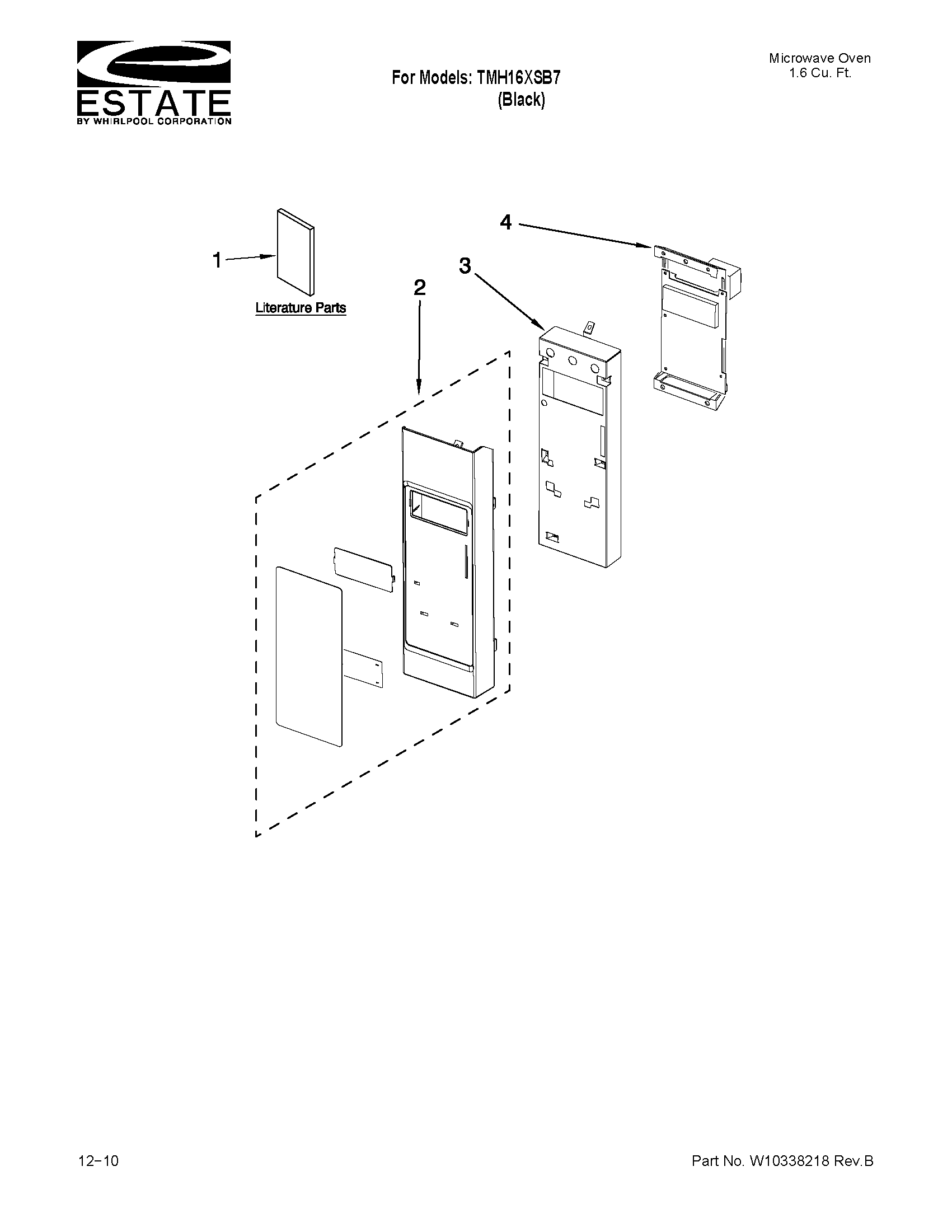 Bestseller: Estate Tmh16xsb Microwave User Manual
