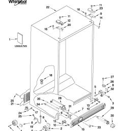 whirlpool refrigerator pressor wiring diagram [ 1701 x 2201 Pixel ]
