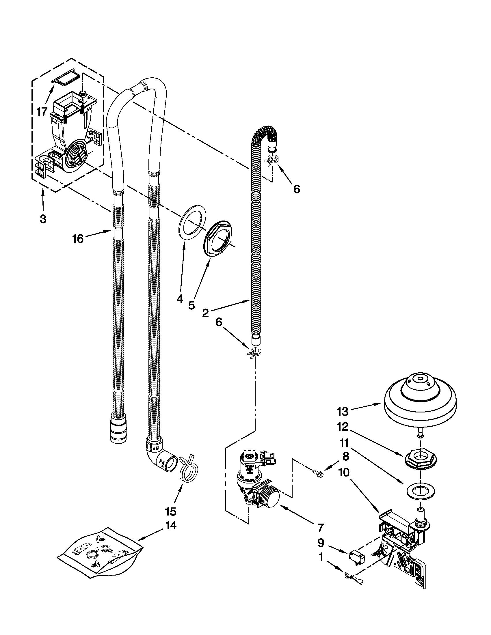 Wiring Diagram: 35 Kitchenaid Dishwasher Parts Diagram