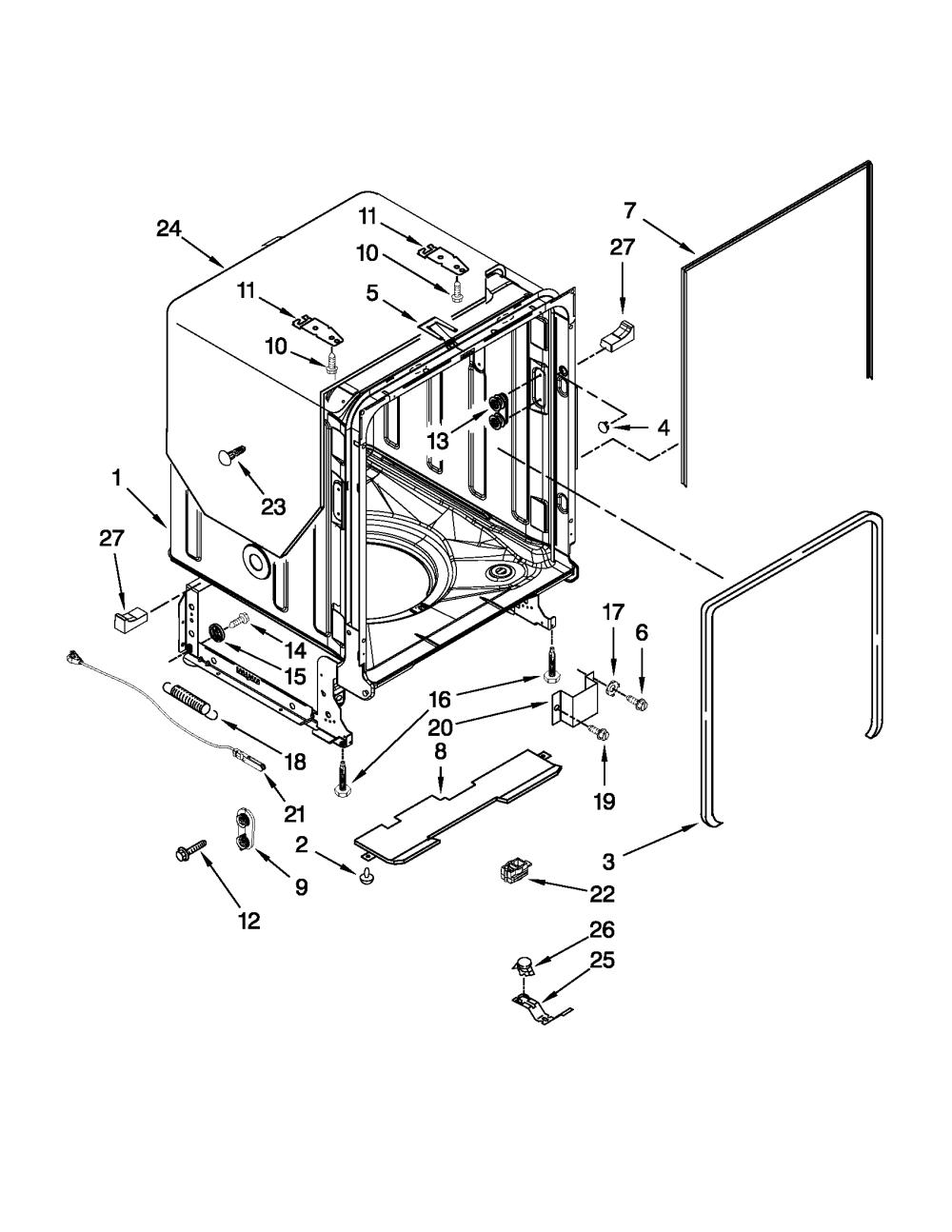 medium resolution of kitchenaid dishwasher wiring harnes diagram