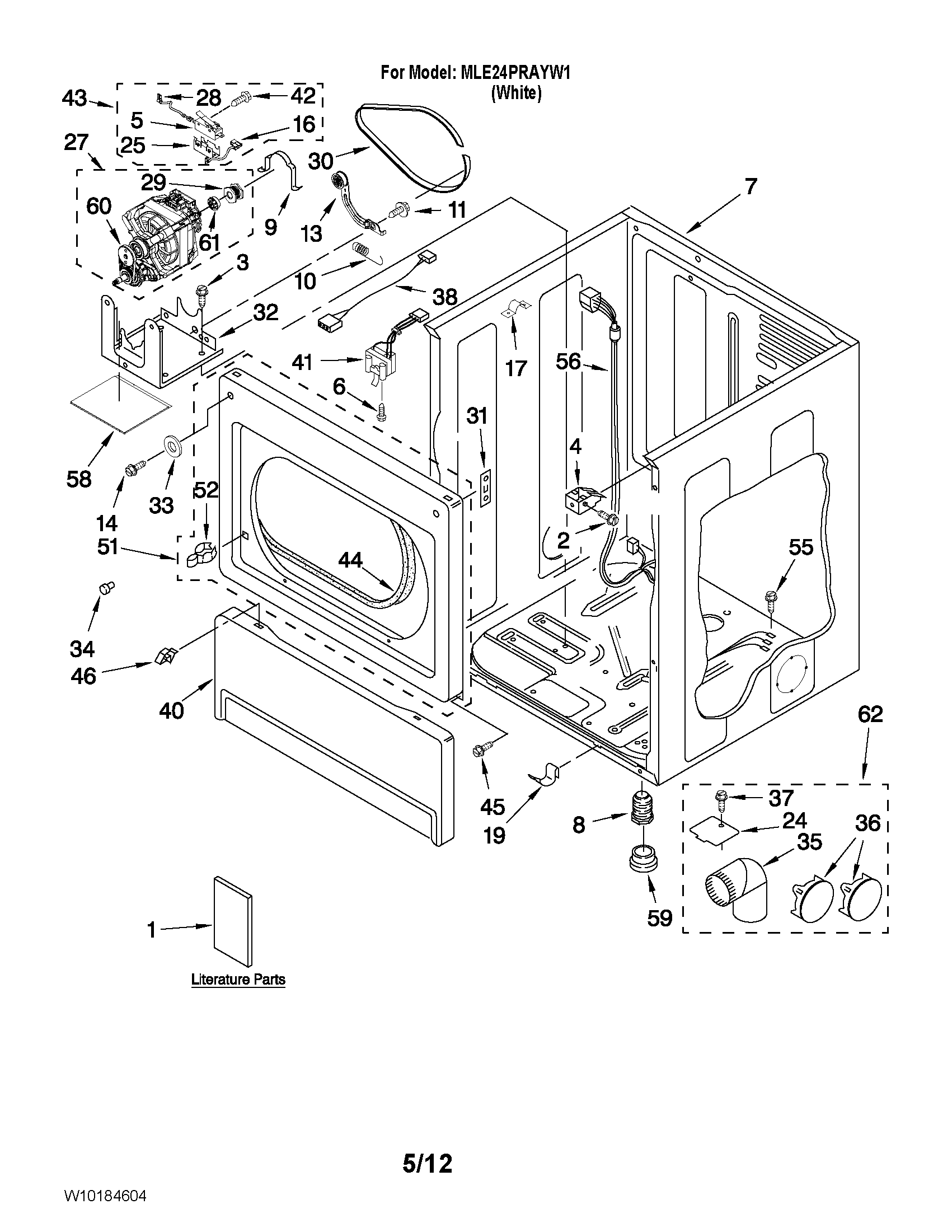 Wiring Diagram For Frigidaire Commercial Heavy Duty Dryer