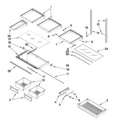 maytag model mfi2665xew6 bottom mount refrigerator genuine partsmaytag mfi2665xew6 wiring schematic 14 [ 1701 x 2201 Pixel ]