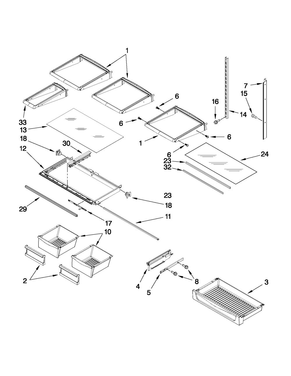 medium resolution of maytag model mfi2665xew6 bottom mount refrigerator genuine partsmaytag mfi2665xew6 wiring schematic 14