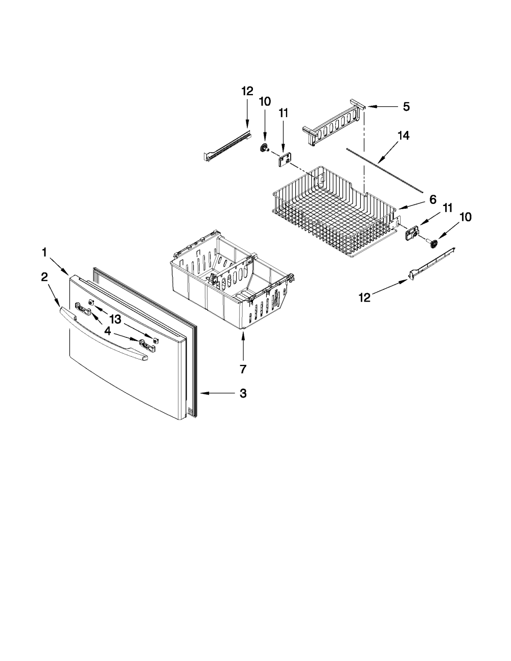 medium resolution of maytag model mfi2665xew6 bottom mount refrigerator genuine partsmaytag mfi2665xew6 wiring schematic 3