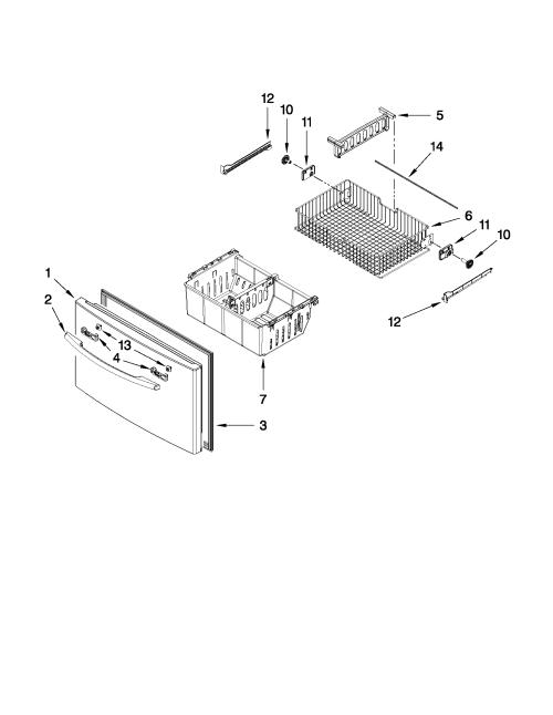 small resolution of maytag model mfi2665xew6 bottom mount refrigerator genuine partsmaytag mfi2665xew6 wiring schematic 3
