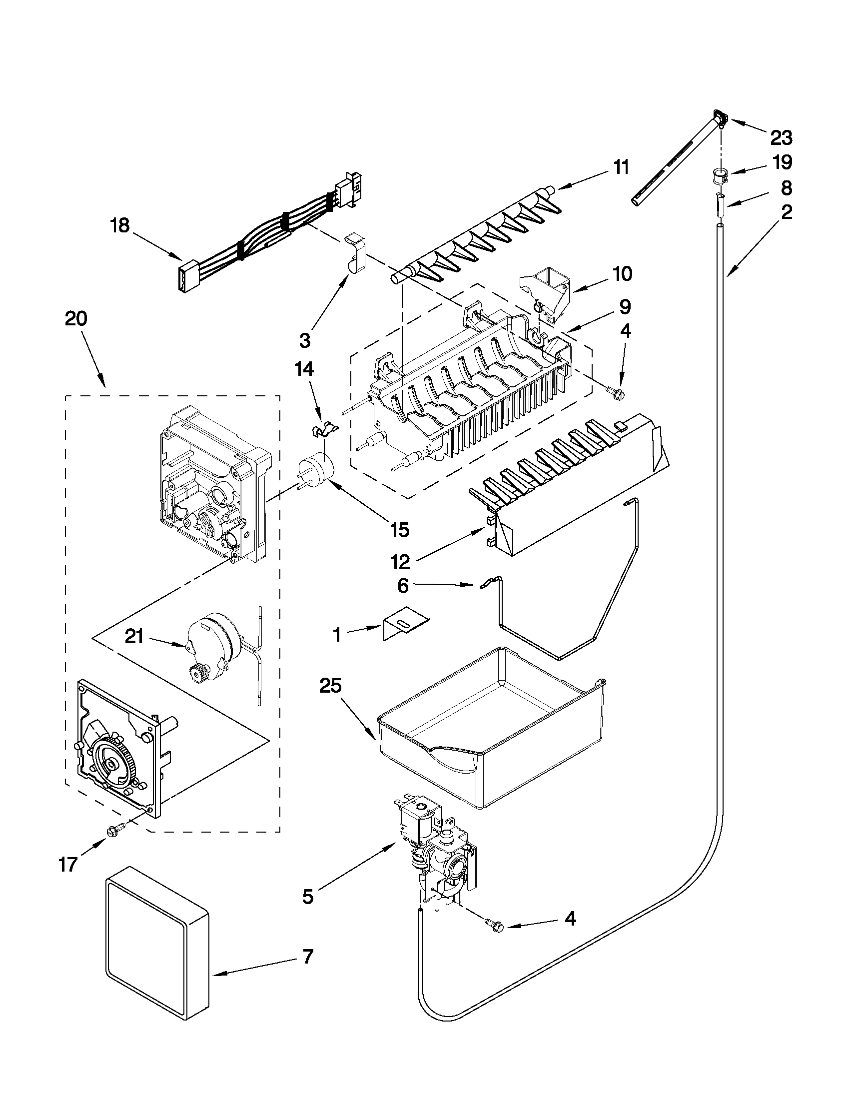 looking for whirlpool model gb2fhdxws07 bottom mount refrigerator whirlpool refrigerator pressor wiring diagram  [ 1701 x 2201 Pixel ]