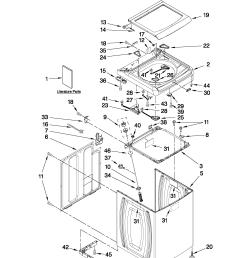 whirlpool cabrio washer diagram [ 1701 x 2201 Pixel ]