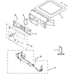 Sears Dryer Wiring Diagram Pioneer Tr7 Whirlpool Parts Model Wed86hebw0 Partsdirect