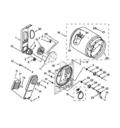 roper model red4640yq1 residential dryer genuine parts roper red4440vq1 wiring diagram roper wiring diagram [ 1700 x 2200 Pixel ]