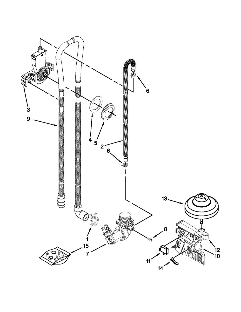 medium resolution of amana dishwasher parts diagram