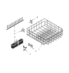 kitchenaid dishwasher wiring harnes diagram [ 1700 x 2200 Pixel ]