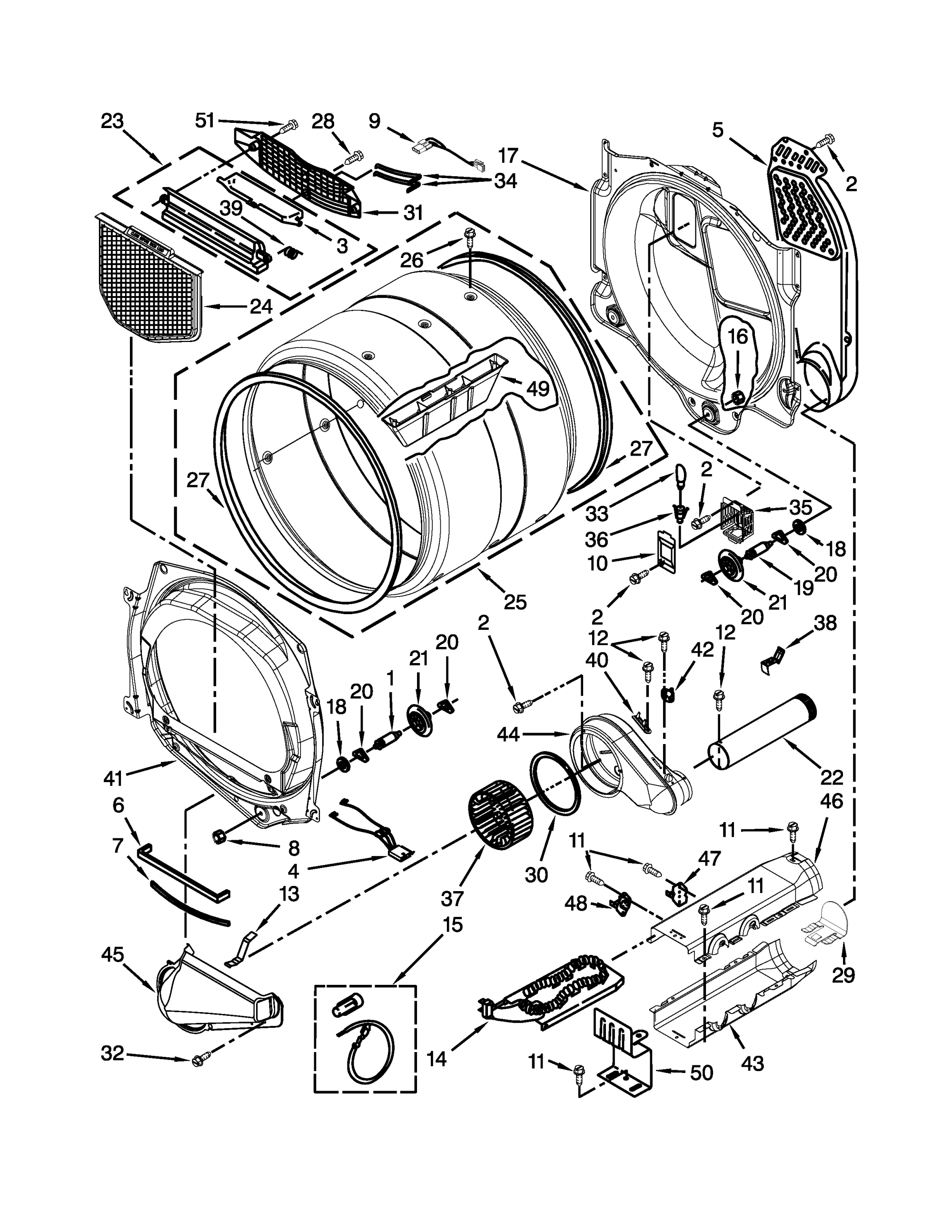 hight resolution of dryer schematic diagram