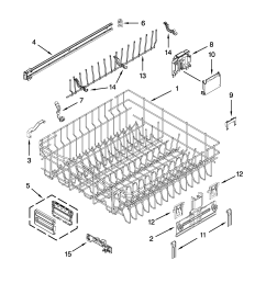 kitchenaid dishwasher wiring harnes diagram [ 2550 x 3300 Pixel ]