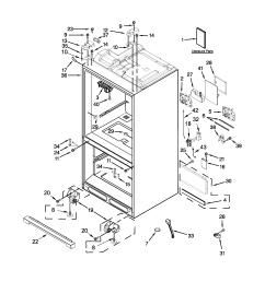 looking for whirlpool model wrf990slam00 bottom mount refrigerator shelf fridge parts diagram [ 2550 x 3300 Pixel ]