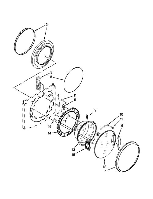 small resolution of door parts