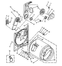 amana ned4655ew0 bulkhead parts diagram [ 2550 x 3300 Pixel ]