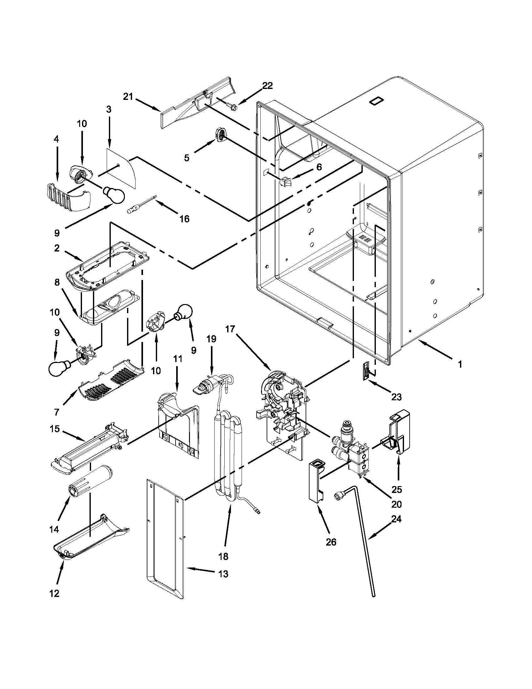 Maytag refrigerator mf12269vem10 wiring diagram wiring diagram