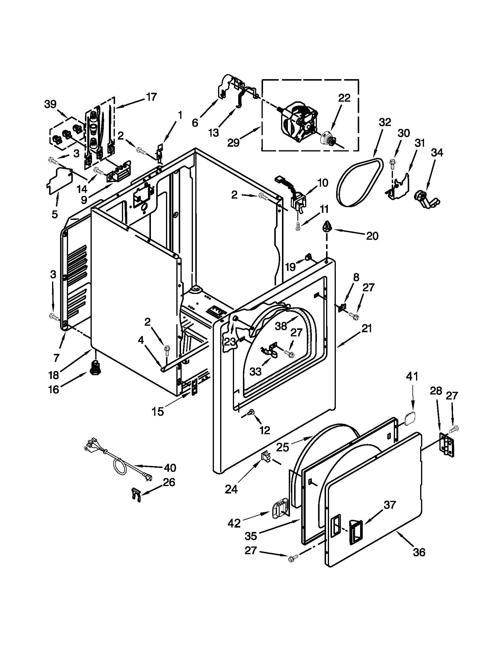 wiring diagram for amana dryer,