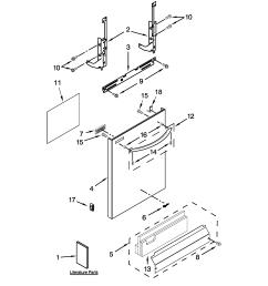 whirlpool dishwasher water valve wiring harnes part [ 2550 x 3300 Pixel ]