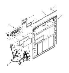 amana model adb1300afw1 dishwasher genuine parts amana dishwasher parts amana dishwasher wiring diagram [ 2550 x 3300 Pixel ]