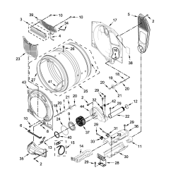 whirlpool model wed75hefw0 residential dryer genuine parts 3 prong 220 wiring diagram roper rex5634kq2 dryer 4 prong wiring diagram [ 2550 x 3300 Pixel ]