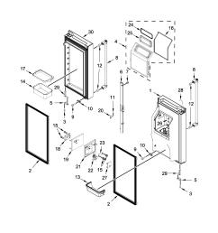 looking for kitchenaid model krmf706ess01 bottom mount refrigerator diagram also kitchenaid refrigerator parts diagram as well kitchenaid [ 2550 x 3300 Pixel ]