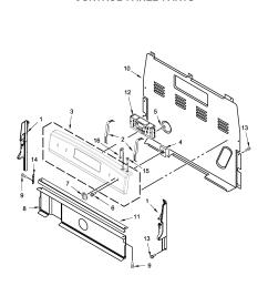 amana yacr4303mfw2 control panel parts diagram [ 2403 x 2816 Pixel ]