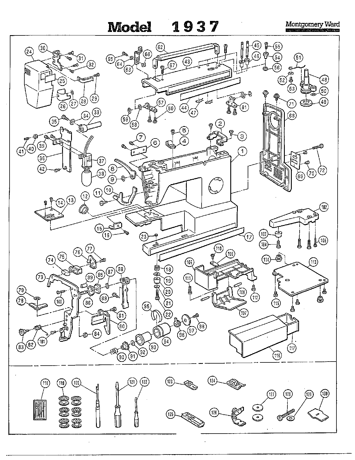 elna sewing machine parts diagram network interface device list
