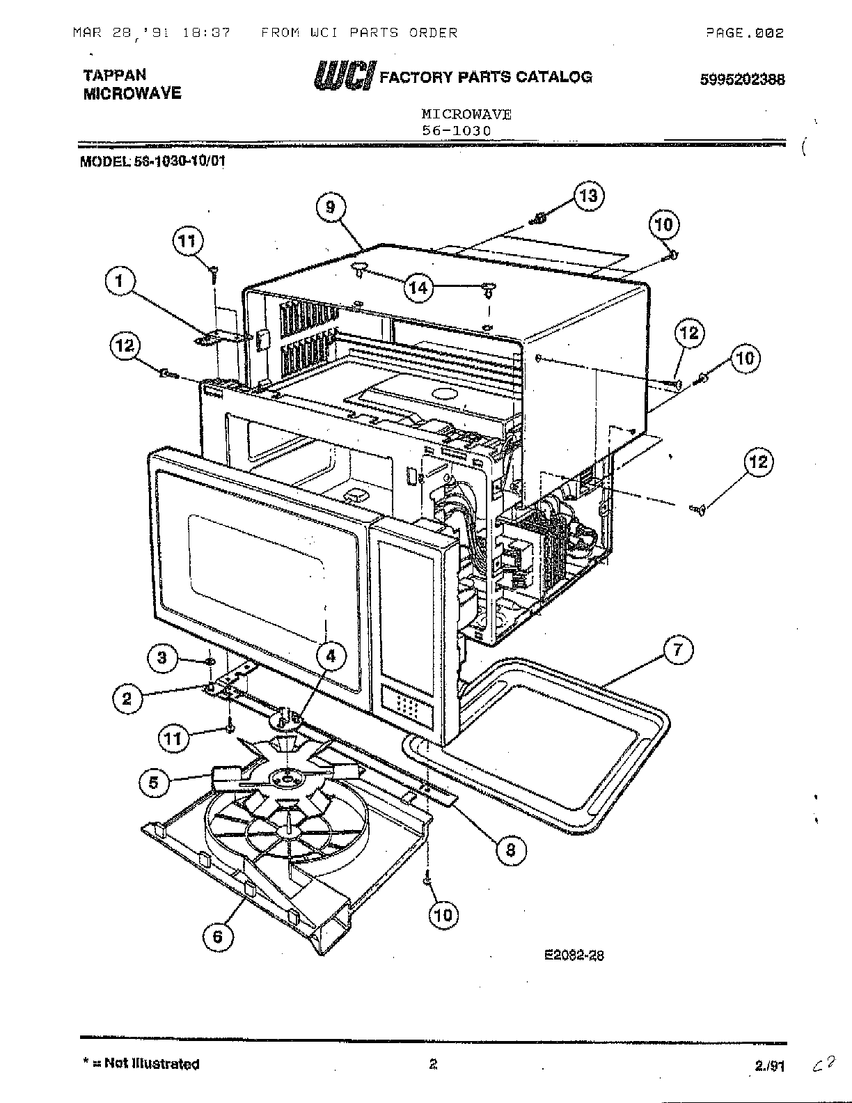 Accessories Diagram And Parts List For Kenmore Sewingmachineparts