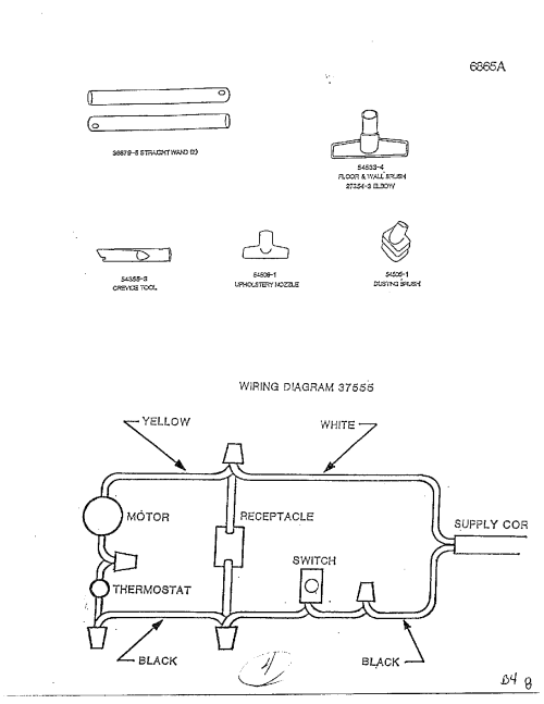 small resolution of vacuum cleaner motor wiring diagram