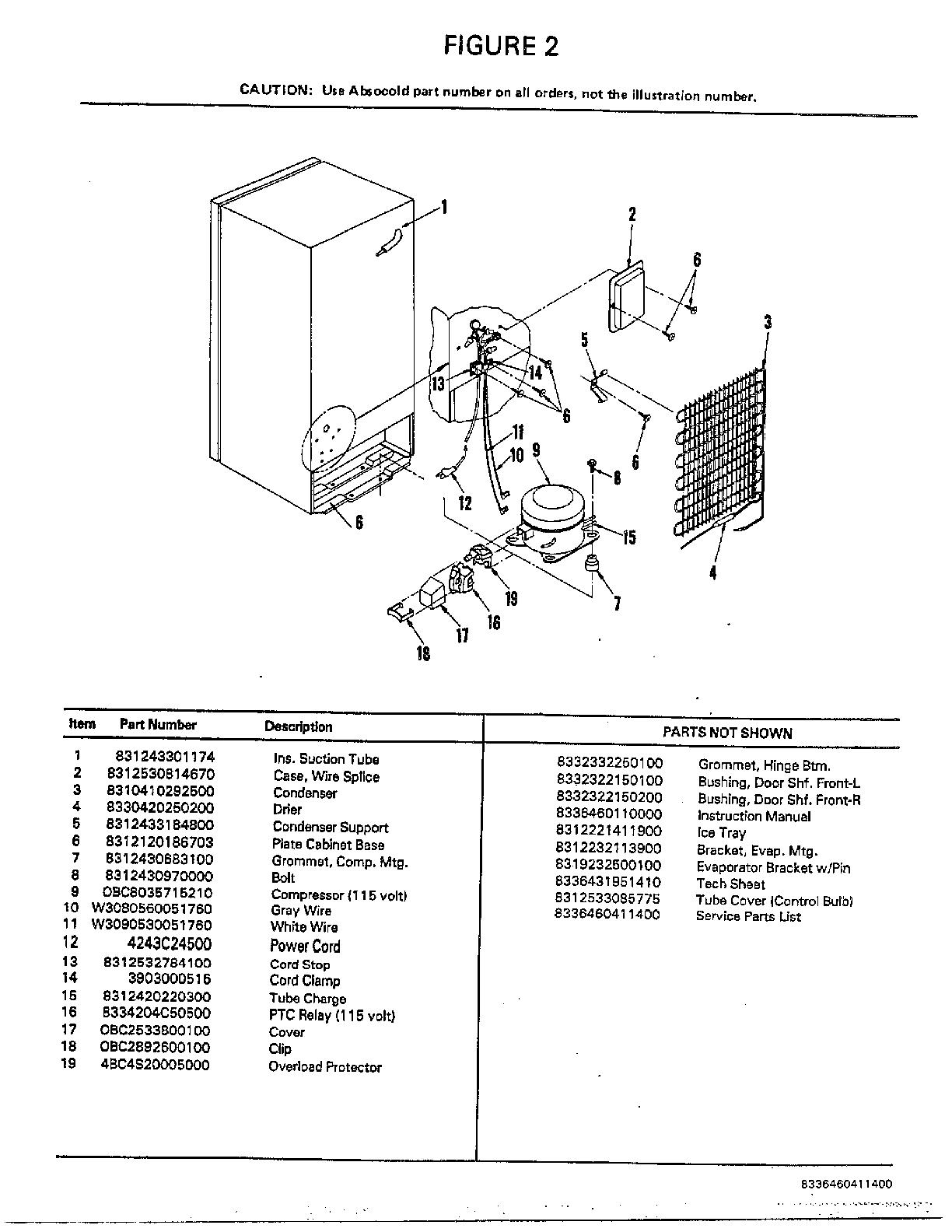 hight resolution of mini part diagram