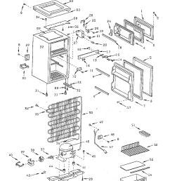 mini fridge diagram manual e booksanyo absocold compact refrigerator parts model ard298cb10rsanyo absocold compact refrigerator compact [ 1224 x 1584 Pixel ]