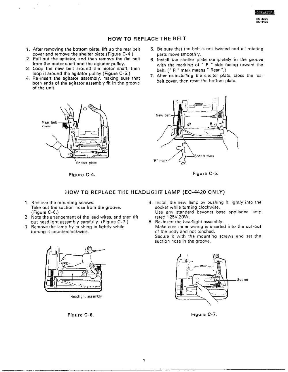 medium resolution of sharp ec 4320 components replacement procedure page 2 diagram