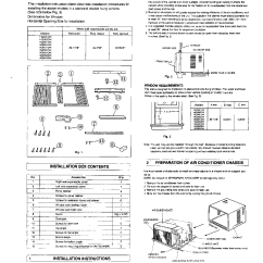 Wiring Diagram Ac Split Daikin 2 Pk 1991 Ezgo Marathon Conia Air Conditioner Manual Ca24003 Conditioners