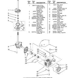 load washer parts diagram ge washing machine motor wiring diagram [ 1224 x 1584 Pixel ]