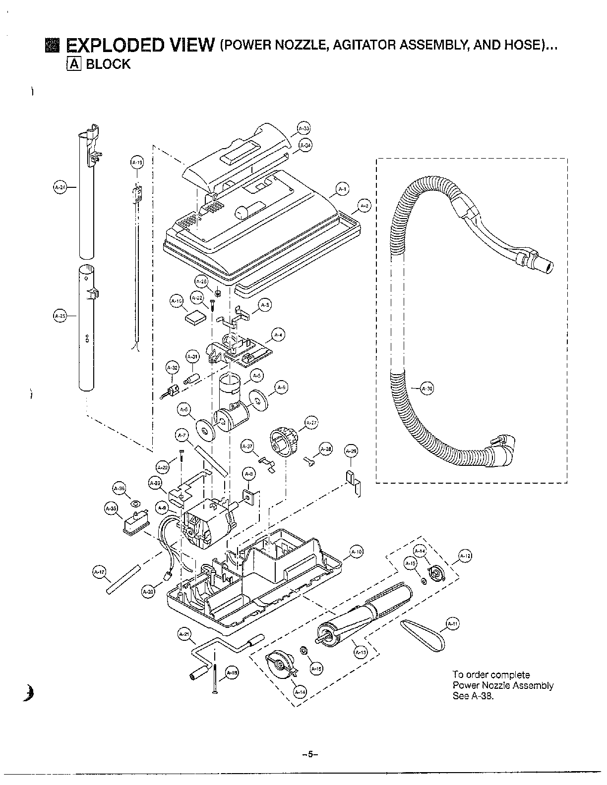 Vacuum Parts: Panasonic Vacuum Parts