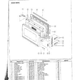 samsung samsung microwave oven parts model mw5350w xaa sears rh searspartsdirect com amana radarange microwave oven parts diagram sharp microwave oven parts  [ 1224 x 1584 Pixel ]