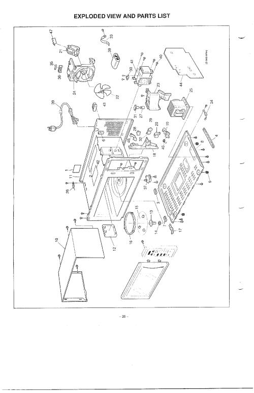 small resolution of panasonic microwave oven parts diagram imageresizertool com kitchenaid dishwasher electrical diagram kitchenaid dishwasher wire diagram