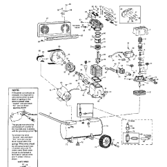 Campbell Hausfeld Pressure Switch Diagram Wiring For 3 Way Light Three Air Compressor Parts Model Vt616500