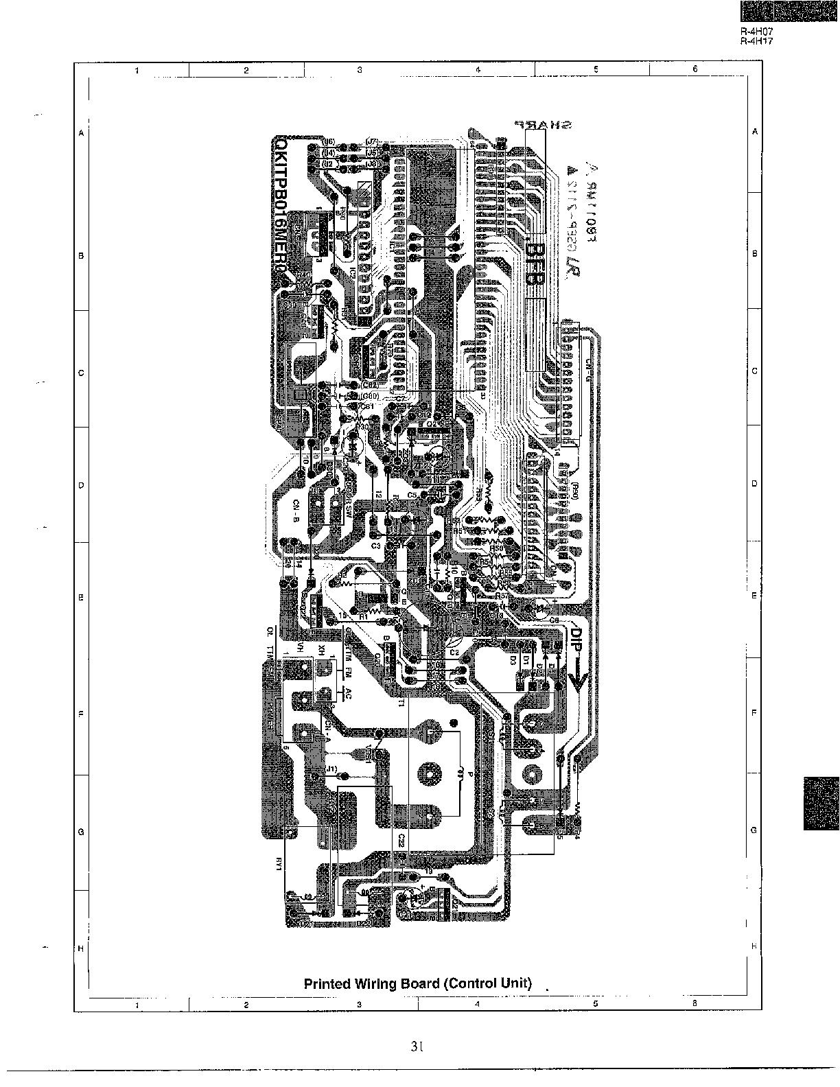 PARTS LIST Diagram & Parts List for Model r4h07 Sharp