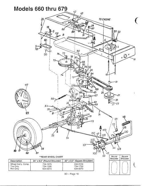 small resolution of mtd 136m670g788 models 660 679 page 3 diagram