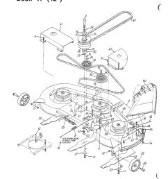 looking for mtd model 136m670g788 front engine lawn tractor repair mtd mower parts diagram mtd mower diagram [ 2040 x 2640 Pixel ]